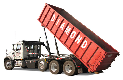 Roll-Off Dumpster Delivery Truck
