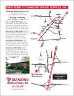 Diamond Waste Driving Map