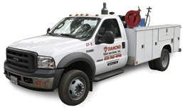 Diamond Fleet Service Truck for on-site preventive maintenance and repairs